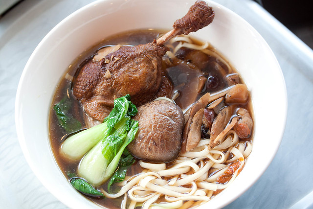 Herbal Duck Drumstick Noodle Soup