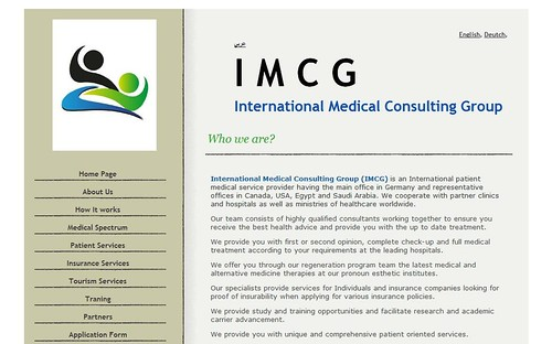IMCG International Medical Consulting Group by totemtoeren