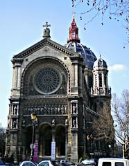 Église Saint-Augustin de Paris, France