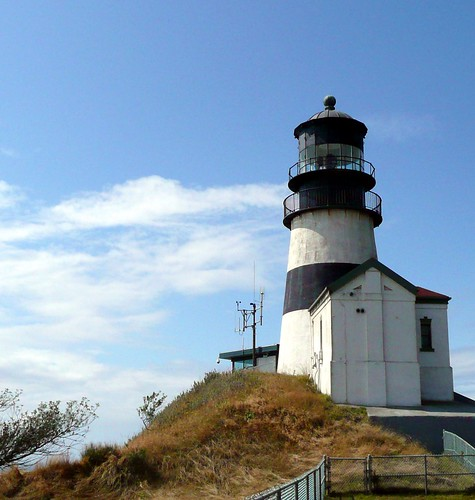 Cape Disappointment Lighthouse by RV Bob
