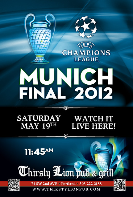 UEFA Champions League @ Thirsty Lion