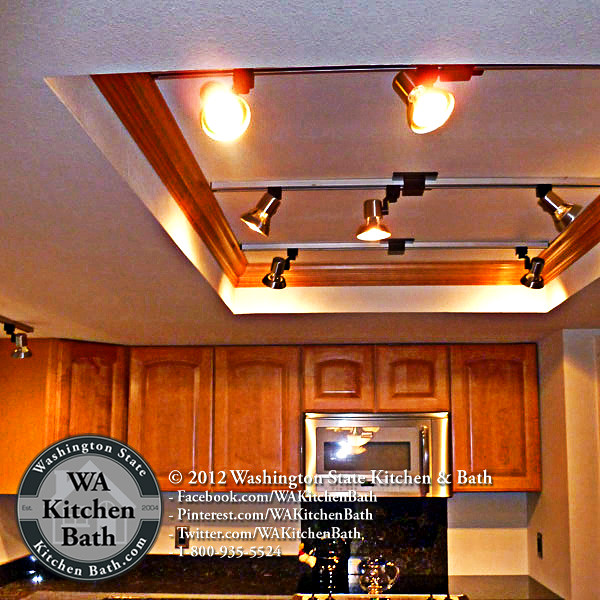 Kitchen Update Cost Estimate: (800) 935-5524 Updated Light Box In Kitchen Remodel