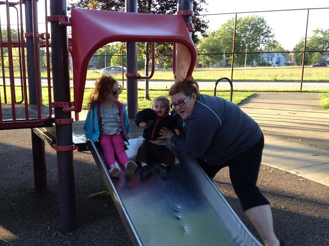 A good friend brings wine to the park and then plays w your kids. @mrssobek