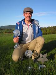 Vincent Gauthier, ses globes de cristal et l'étoile du sport