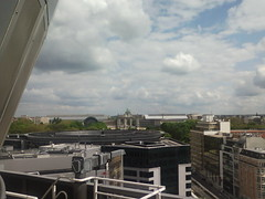 View from the Berlaymont building