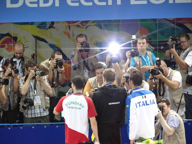 Biedermann & co meeting the photographers