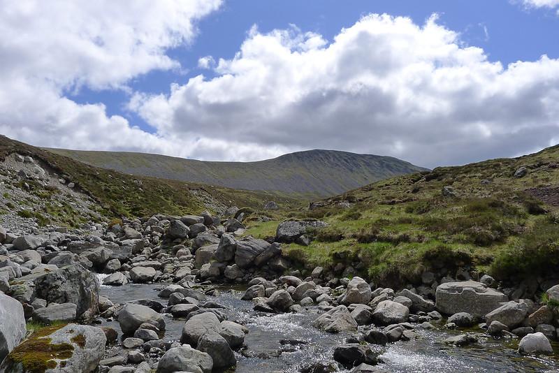 Beinn Bheòil above the Allt a' Bealach Beithe