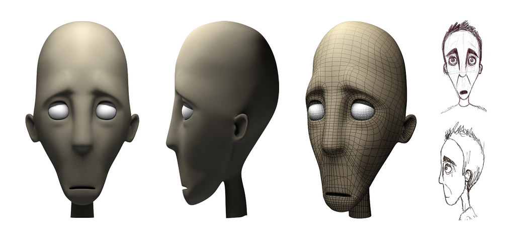 Cinema 4D character model | This is a near final model creat