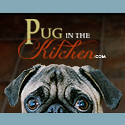 Pug in the Kitchen