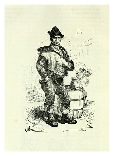 002-El aguador-Los españoles pintados por si mismos-Tomo I-1843- Editado por Ignacio Boix