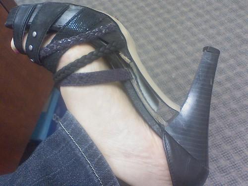 Broken Shoe, Broken Heart by Petunia21