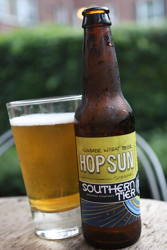 Southern Tier Brewing Company Hop Sun Summer Wheat Beer