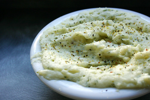 dill mashed potatoes
