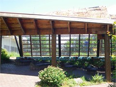 outdoor structure, roof, property, pergola, facade, home,
