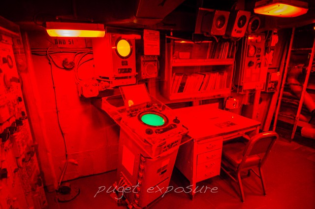 Radar Room 2 USS Turner Joy (DD-951)