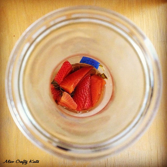 Strawberry Basil Kombucha