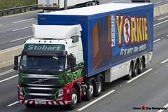 Volvo FM 6x2 Tractor with 3 Axle Box Trailer - PX60 CWD - H4626 - Pippa Jane - Eddie Stobart - M1 J10 Luton - Steven Gray - IMG_9525
