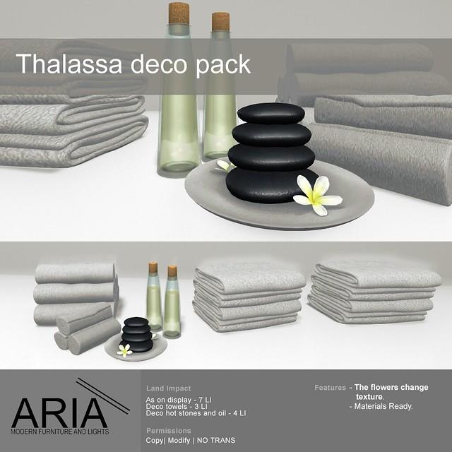 Thalassa deco pack@ TMD