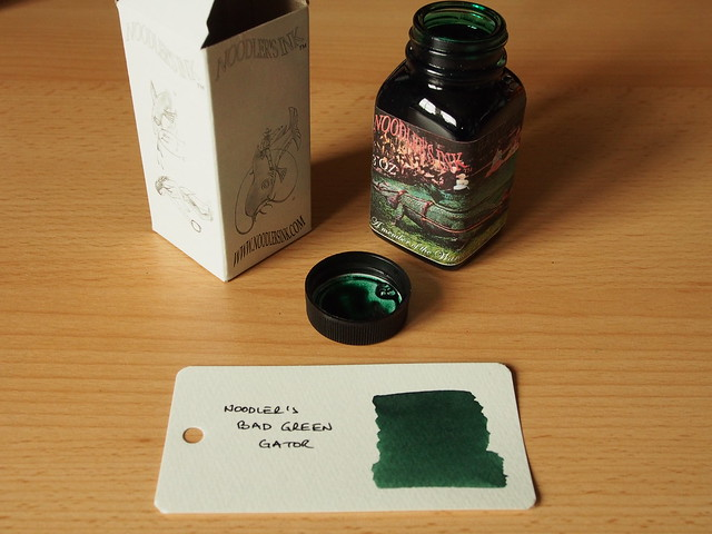 Noodler's Bad Green Gator - Ink Review