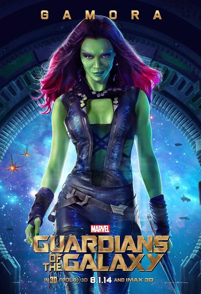 Gamora - Zoë Saldana