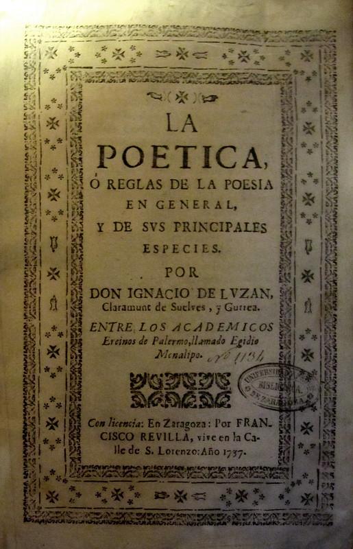 La Poética de Luzán