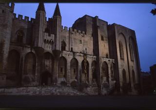 Palais des Papes - Avignon {juni 1996}