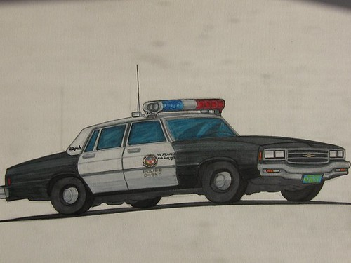 Los Angeles Police Department 1982 Chevy Impala