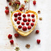 Cake with wild strawberries by Tasty food & photography