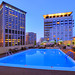 The Colonnade Roof Top Pool - Boston, MA by Jeff Newcum Photography