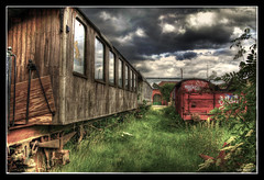 Present tense of a Faded Past - HDR