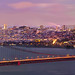 City Lights, San Francisco at Dusk