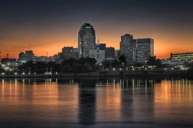 Downtown Shreveport, LA from Flickr via Wylio