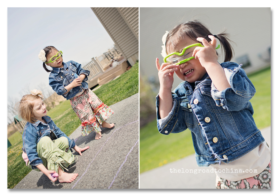 Funny 3 D Glasses Collage