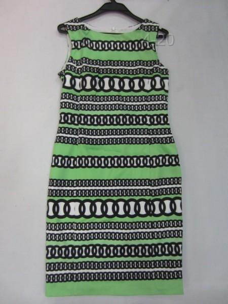 420031 1330 ANNEKLEIN 仿丝印圆圈无袖裙 红色 绿色 6...