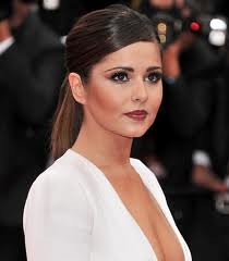 Cheryl Cole Sleek Ponytail Celebrity Style Fashion