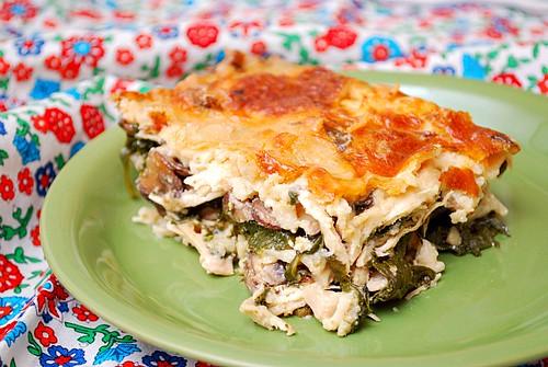 Chicken Florentine Lasagna