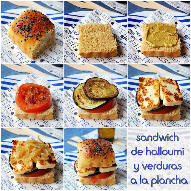 sandwich halloumi verduras collage 0