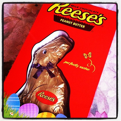 Mmmm..Happy Easter! #Hershey