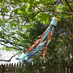 Feather your nest Entry, Recycled/Upcycled Bean Can Scrappy Windsock