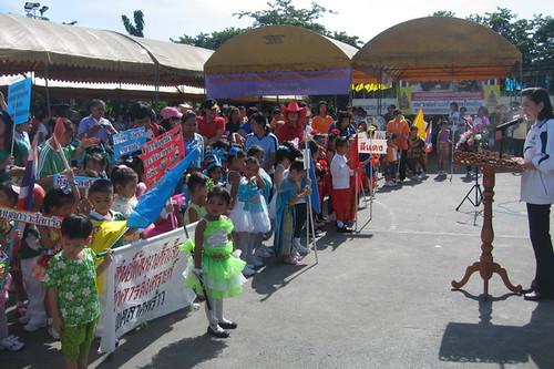 ชุมชนหมู่บ้านเจริญสุข4 เข้าร่วมการแข่งขันกีฬาสโมสรกีฬาเขตลาดพร้าว