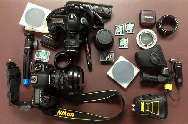 Camera Gear (from a recent shoot)