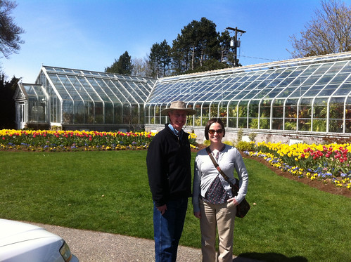 Ray & Mimi at Volunteer Park