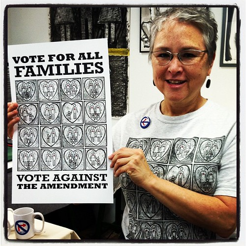 Griffin Works Art - Right on, sista! #votenoNC