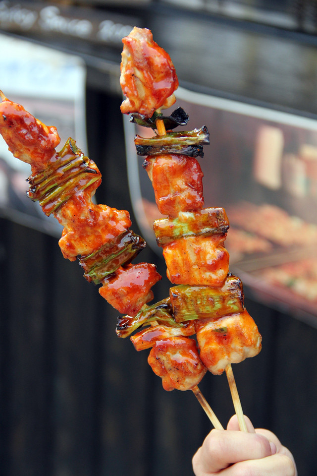 korean chicken skewers dakkochi 닭꼬치 24 korean chicken skewers ...