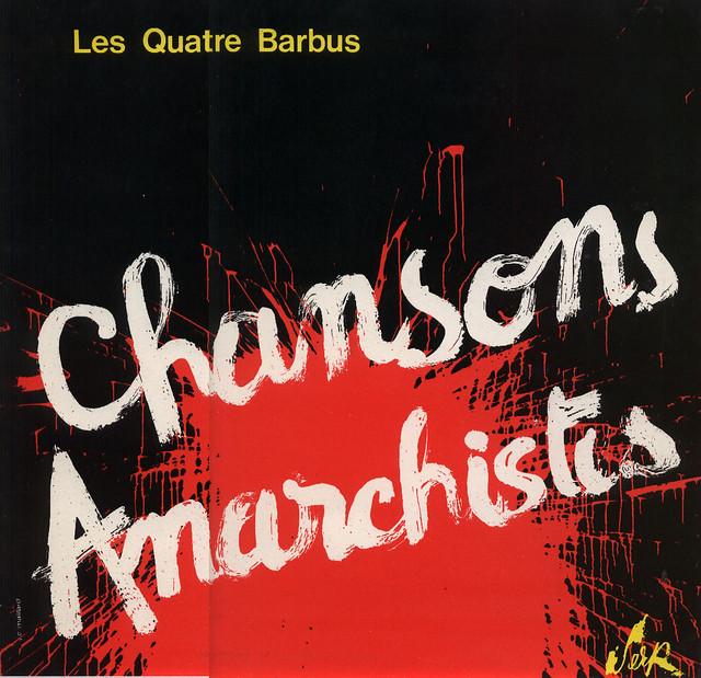 Les Quatre Barbus - Chansons Anarchistes  (1969)_001