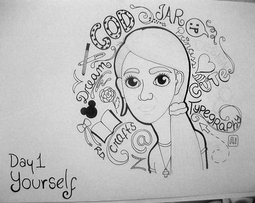 Day 1/30. Yourself by fole♥