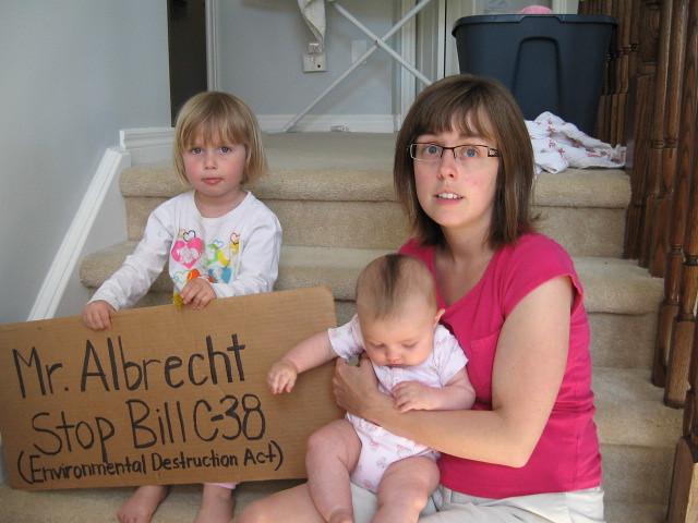 Stop Bill C-38 -