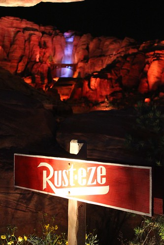 Radiator Springs Racers in Cars Land