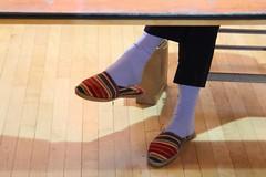 outdoor shoe(0.0), arm(0.0), shoe(0.0), high-heeled footwear(0.0), human body(0.0), brown(1.0), footwear(1.0), limb(1.0), leg(1.0), sock(1.0),