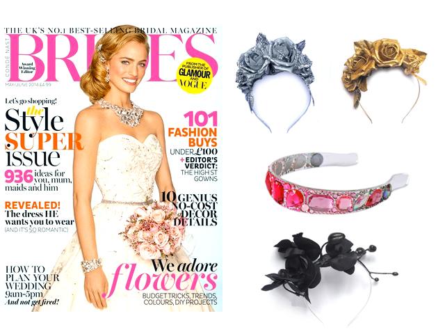 Brides magazine May/June 2014